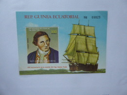 GUINEA EQUATORIAL  CAPTAIN COOK 200 YEARS MINT - Guinea (1958-...)