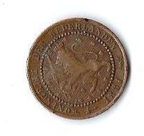 Monnaie Pays Bas Nederlanden Koningrijk 1881 1 Cent - 1849-1890 : Willem III