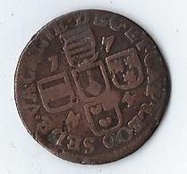 Monnaie 1744 BELGIQUE PRINCIPAUTÉ ÉPISCOPALE DE LIÈGE 1 Liard Évéché De Liège St Lambert / Armes - Belgique