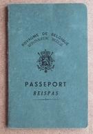 Passeport Royaume De Belgique - Merckx - Forest - Cachet - Timbre Fisc - Photo - 1949 - Cachet Poste Front. De Feignies - Historische Dokumente