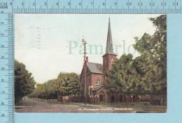 CPA Voyagé 1908 - Methodist Church  Orillia Ontario - Timbre CND #89 - Non Classés