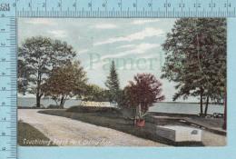CPA Voyagé 1907 - Couchiching Beach Park , Orillia Ontario - Timbre CND #89 - Non Classés
