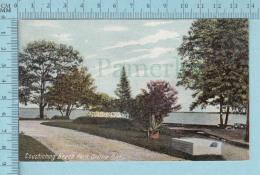 CPA Voyagé 1908 - Couchiching Beach Park Orillia Ontario - Timbre CND #89 - Non Classés