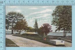 CPA Voyagé 1907- Couchiching Beach Park Orillia Ontario - Timbre CND #89 - Non Classés