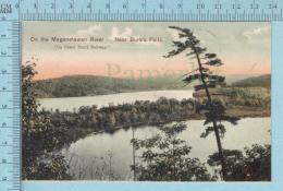 CPA Voyagé 1907- On The Maganetawan River Near Burk's Falls  Ontario - Timbre CND #89 - Non Classés