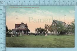 CPA Voyagé 1908 -Fern Cottage Lake Couchiching Near Orillia  Ontario - Timbre CND #89 - Non Classés