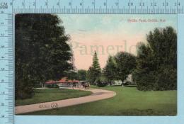 CPA Voyagé 1908 - Orillia Park, Animated  Orillia  Ontario - Timbre CND #89 - Non Classés