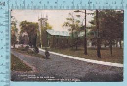 CPA Voyagé 1907 - St Mark's Church Niagara On The Lake  Ontario - Timbre CND #89 - Ontario