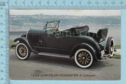 CPM Voyagé 1986 - Auto , Old Car 1924 Chrysler Roadster 4 Cylindre - Timbre CND 34¢ - Voitures De Tourisme