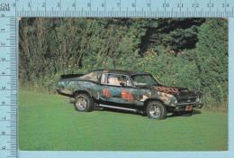 CPM Voyagé 1985 - Chevrolet   Acadian SS 1969, Vieille Auto, Dessin = Souvenir De Croisiere Caraibes - Timbre CND 34&cen - Voitures De Tourisme