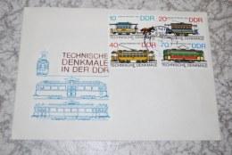 DDR 1986 FDC Mi. 3015-3018 Technische Denkmale In Der DDR - FDC: Sobres