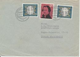 Germany Cover Sent To Switzerland Stuttgart 19-5-1960 - [7] République Fédérale