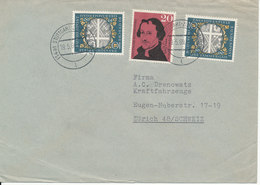 Germany Cover Sent To Switzerland Stuttgart 19-5-1960 - [7] Federal Republic