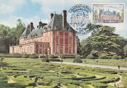 Carte Maximum  1er  Jour   FRANCE   Chateau  De  ROSNY  SUR  SEINE   1981 - Cartes-Maximum