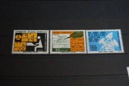 Türkei 1975 , Freimarken : Post - Und Fernmeldewesen / Mi. 2348 - 50 ** Postfrisch - MNH - Turquía