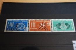 Türkei 1963 , Kampf Gegen Den Hunger / Mi.1858 - 60 ** Postfrisch - MNH - Contro La Fame