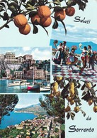 Postcard Saluti Da Sorrento PU 1965 My Ref  B22710 - Napoli (Naples)
