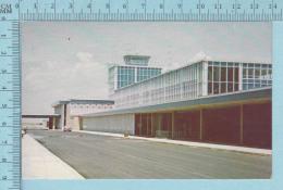 CPM Voyagé 1961 - Halifax International Airport Nova Scotia Canada Aeroport - Timbre CND 4¢ - Halifax