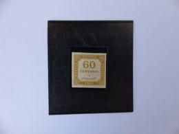 TAXE  8  NEUF  SANS  GOMME  SIGNE  COTE  800 € - 1859-1955 Nuevos