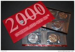 USA /  UNCIRCULATED COIN SET 2000 - Denver (KMS 2000 Prägeort  Denver Mint) - Emissioni Federali