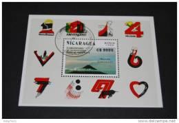 NICARAGUA 1989  Block  188  Gestempelt - Nicaragua
