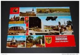 Weinort Nierstein An Rhein - Mehrbildkarte Gelaufen 1982 - Nierstein