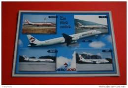 Aero Lloyd - Airplane - Caravelle - DC-9 - A320 - A321 - MD-83 - - 1946-....: Modern Era