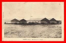 CPSM/gf  (10) PLANCY.  Aérodrome De La Perthe, Avions Biplan...H034 - France