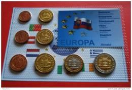 SLOWAKEI  2004 - Euro Proben Satz - Slowakei