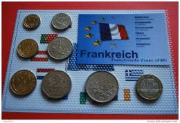 KMS - FRANKREICH / 18,85 Frank. Versch. Prägejahre. Eingeschweißt - Kompl. Ausg. - Frankreich