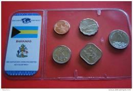 KMS - BAHAMAS / 5W - 1 Cent Bis 25 Cents  - Kompl. Ausg. - Bahamas
