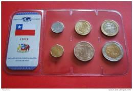 KMS - CHILE / 6W. - 1 Peso Bis 500 Peso - Kompl. Ausg. - Chile