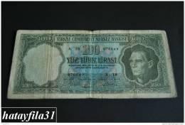 1964 Türkei - 100 Lira /  5. Emisyon 5. Tertip - Serie  A 10  - Gebraucht , Geld Auf Dem Foto  Bekammen Sie - Turkey