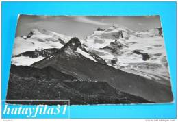 Strahlhorn - Rimpfischorn -  Allalinhorn - VS Wallis