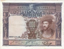 España - Spain 1.000 Pesetas 1925 Pcik 70c Ref 669-2 - [ 1] …-1931 : Primeros Billetes (Banco De España)