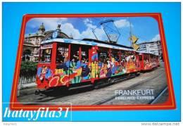 FRANKFURT  EBBELWOI - EXPRESS Gelaufen 1989 - Frankfurt A. Main