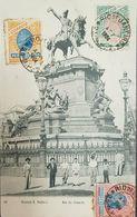O) 1904 BRAZIL, SUGARLOAF MOUNTAIN SCOTT A41a 20 REIS -SCOTT A41 10 REIS, HERMES SCOTT A43, POSTAL CARD STATUE DOM PEDRO - Rio De Janeiro
