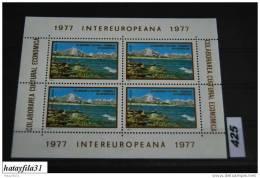 Rumänien 1977 - Europa Sympathie - Block . 142 ** - Hojas Bloque