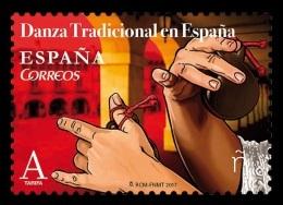 Spain 2017 Mih. 5153 Traditional Dances. Crotacology MNH ** - 1931-Heute: 2. Rep. - ... Juan Carlos I