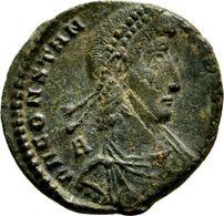 VÉTRANION Pour CONSTANCE II Maiorina 5,8 G (RIC 23) Trace De La Cassure Du Coin - 7. L'Empire Chrétien (307 à 363)
