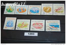 Rumänien 1959 - Mi. 1802 - 1810 - Gestempelt - 1948-.... Repúblicas