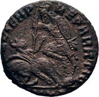 Constantius II 2,22 G (Scissia RIC VIII 361) - 7. L'Empire Chrétien (307 à 363)