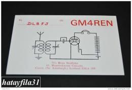 QSL Cards  1992 Scotland   ( QSL 4 ) - Radio Amateur