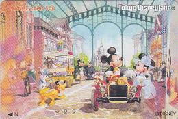 Carte Privée Orange NEUVE Japon - DISNEY DISNEYLAND - MICKEY MINNIE OURS Country BEAR - JAPAN MINT JR Card - Disney