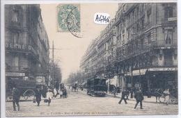 PARIS XIV- RUE D ALESIA ET AVENUE D ORLEANS - District 14