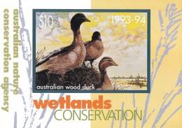 AUSTRALIA Wetlands Conservation 1993-94 Mint Pack - Tarjetas Telefónicas