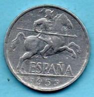 (r65)  ESPAGNE / SPAIN   10 Centimos 1953 - [ 4] 1939-1947 : Gouv. Nationaliste