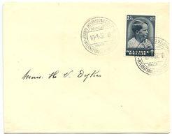 Belgium 1937 FDC Scott B188 Prince Baudouin, International Stamp Day - ....-1951