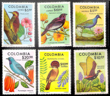 7660  Birds - Oiseaux - Woodpeckers - Colombie 709-10 + A 610-13  MNH - 3,85 (12) - Vogels