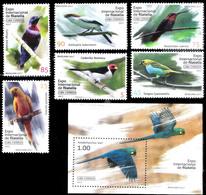 7660  Birds - Parrots - Oiseaux - 2017 - MNH - 4,25 - Birds
